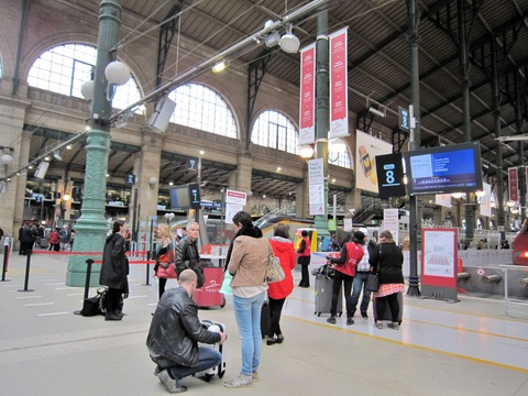 パリ北駅 (5)