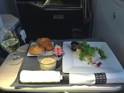 JALビジネスクラス機内食 (10)
