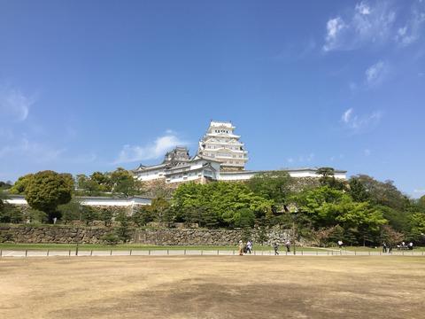 姫路城 平成の大改修 (3)