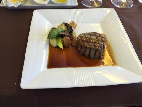 JALファーストクラス機内食 (22)