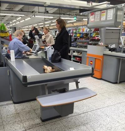 欧州のスーパー
