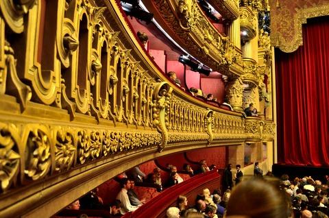 パリ国立オペラ座ガルニエ (1)