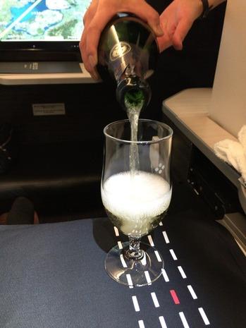 JALビジネスクラス機内食パリ成田 (1)