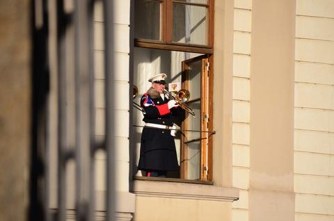 プラハ城「衛兵の交代式」 (7)