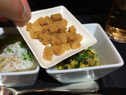 JALビジネスクラス機内食パリ成田 (3)