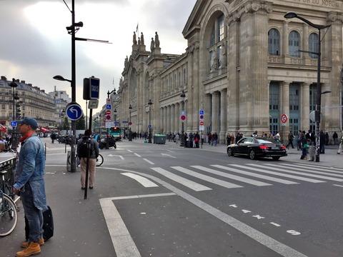 パリ北駅からCDGアクセス (7)