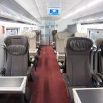 """新型ユーロスターe320乗車記 London~Paris その① Standard Premierの""""ソロシート""""とスーツケース置き場"""