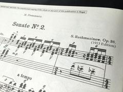 ラフマニノフ ピアノソナタ2番 (2)