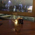 ロンドンSouthbank Centreのレストラン「Skylon」でコンサート終わりのディナー