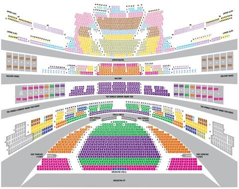ロイヤルオペラハウス座席図2