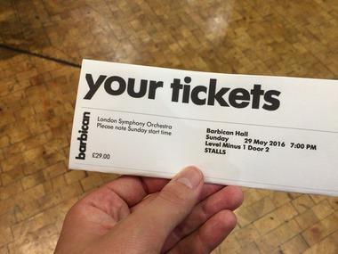 Barbican Hallでコンサート! (15)