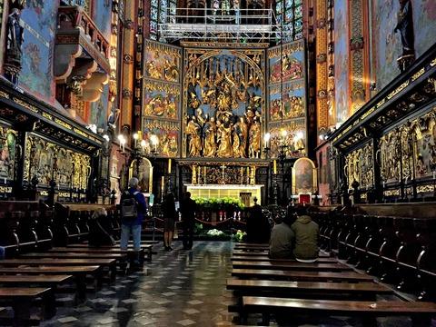 クラクフ聖マリア大聖堂 (2)