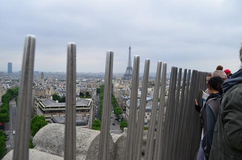 凱旋門の階段の段数を数えてみた (6)
