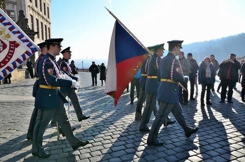 プラハ城「衛兵の交代式」 (4)
