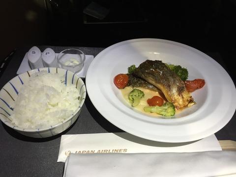 JALビジネスクラス機内食ヘルシンキ→成田 (6)