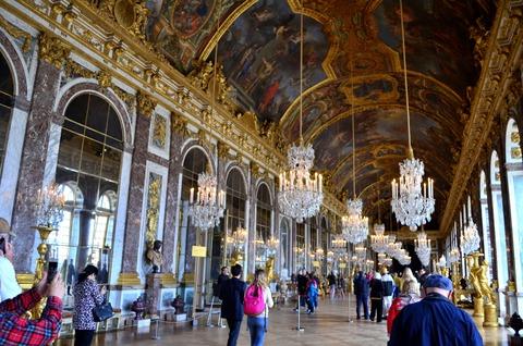 ヴェルサイユ宮殿 鏡の間 (3)