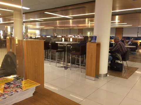 パリAir France Lounge (22)
