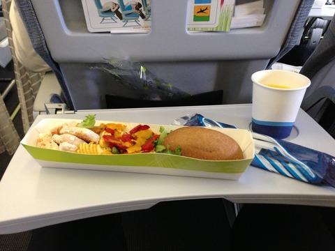 Finnair機内食