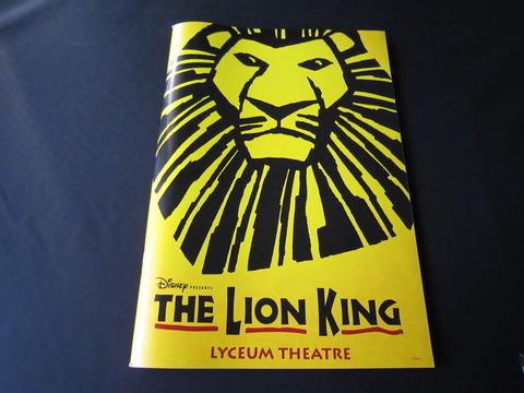 ロンドンでライオンキング鑑賞 (1)