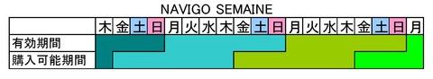 NAVIGO SEMAINE