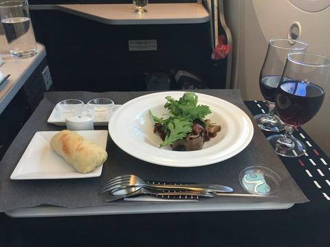 JALビジネスクラス機内食 (3)