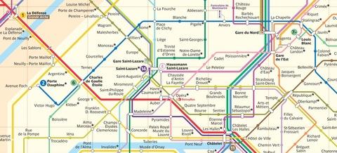 パリ路線図