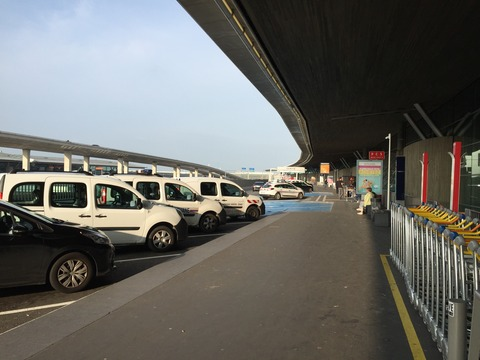 パリ北駅からCDGアクセス (11)