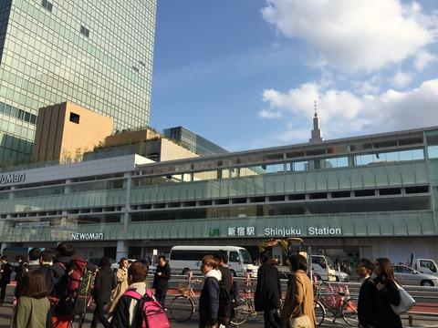 新宿駅南口ミライナタワー (1)