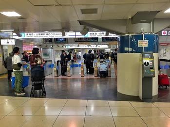 東京駅 新幹線 (1)