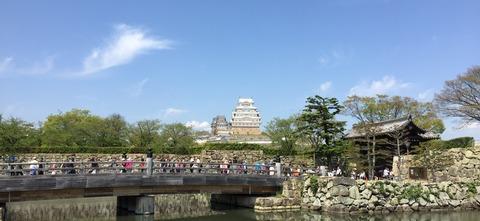 姫路城 平成の大改修 (1)
